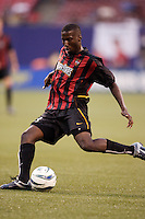 The MetroStars' Cornell Glen. The NY/NJ MetroStars defeated the LA Galaxy 3 to 0 during MLS action at Giant's Stadium, East Rutherford, NJ, on August 8, 2004.