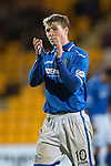 St Johnstone v Motherwell......27.10.13      SPFL<br /> David Wotherspoon applauds the fans as he is subbed<br /> Picture by Graeme Hart.<br /> Copyright Perthshire Picture Agency<br /> Tel: 01738 623350  Mobile: 07990 594431