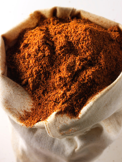 Ground Cayenne Pepper - stock photos