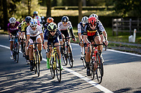 front group with Belgian National Champion Lotte Kopecky (BEL/Lotto-Soudal)<br /> <br /> 9th Gent-Wevelgem in Flanders Fields 2020<br /> Elite Womens Race (1.WWT)<br /> <br /> One Day Race from Ypres (Ieper) to Wevelgem 141km<br /> <br /> ©kramon