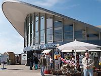 Restaurant Teepott in Rostock-Warnemünde , Mecklenburg-Vorpommern, Deutschland