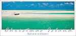 KKF05 The stunning lagoon on Christmas Island, Kiribati