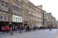Edinburgh, buildings on the Royal Mile<br /> Scotland May 8th - 19th. Trip across Scotland<br /> Foto Samantha Zucchi Insidefoto