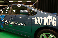Montreal's AUTO SHOW 2007 feature many hybrid cars such as the Hymotion 100 MPG<br /> <br /> <br /> <br /> photo :  Images Distribution