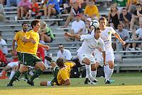 Derek Gaudet-Portland Timbers (white)...AC St Louis defeated Portland Timbers 3-0 at Anheuser-Busch Soccer Park, Fenton, Mssouri.