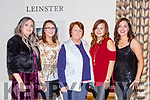 Joanie McAulliffe, Deirdre O'Connor, Joan O'Connor, Pauline Henderson and Aisling Sugruey at the Absolutely Fabulous theme night in the Brehon Hotel on Saturday night