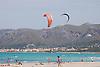 Kite surfing at the beach of Son Serra de Marina<br /> <br /> 3008 x 2000 px<br /> 150 dpi: 50,94 x 33,87 cm<br /> 300 dpi: 25,47 x 16,93 cm