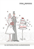 Simonetta, WEDDING, paintings, ITDPNZP0003,#W# Hochzeit, boda, illustrations, pinturas ,everyday