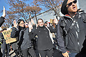 Demo against police brutality in the USA in Tokyo