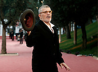 Il regista statunitense David Mamet posa sul red carpet del Festival Internazionale del Film di Roma, 18 ottobre 2016.<br /> U.S. director David Mamet poses on the red carpet during the international Rome Film Festival at Rome's Auditorium,18 October 2016.<br /> UPDATE IMAGES PRESS/Isabella Bonotto