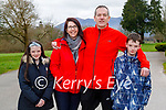 Enjoying a stroll in the Killarney National park on Sunday, l to r: Sofie, Felicity, Patrick and Max Browne.