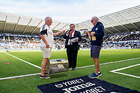 during the Sky Bet Championship match between Swansea City and Nottingham Forest at the Liberty Stadium in Swansea, Wales, UK. Saturday 14 September 2019