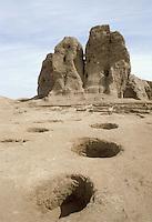 - Northern Sudan, neolithic settlements of Kherma , north of Khartoum....- Sudan settentrionale, insediamenti neolitici di Kherma, a nord di Khartoum