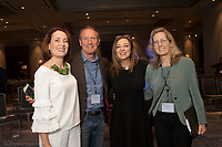 Susan David, Mark Thompson, Susan Cain and Bonita Thompson  at the Coaching in Leadership and Healthcare Conference by the Institute of Coaching and Harvard Medical School at the Renaissance Hotel Boston MA October 13 and 14, 2017