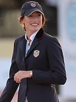 WELLINGTION, FL - FEBRUARY 10: SATURDAY NIGHT LIGHTS – 384,000 FIDELITY INVESTMENTS® GRAND PRIX CSI 5*. The Winter Equestrian Festival (WEF) is the largest, longest running hunter/jumper equestrian event in the world held at the Palm Beach International Equestrian Center. Jessica Rae Springsteen (born December 30, 1991) is an American show jumping champion rider who has represented the United States in the Show Jumping World Cup and the 2012 FEI Nations Cup.Jessica is the second child and only daughter of Bruce Springsteen and Patti Scialfa on February 10, 2018  in Wellington, Florida.<br /> <br /> People:  Jessica Rae Springsteen