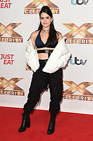 Wendii Sarmiento (V5)<br /> at the photocall of X Factor Celebrity, London<br /> <br /> ©Ash Knotek  D3524 09/10/2019