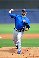 Toronto Blue Jays pitcher Brandon Morrow #23 during a Spring Training game against the New York Yankees at Steinbrenner Field on February 28, 2013 in Tampa, Florida.  Toronto defeated New York 1-0.  (Mike Janes/Four Seam Images)