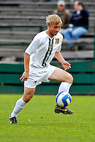31 October 2007: The University of Vermont Catamounts' Kyle Luetkehans, a Freshman from LaGrange, IL, in action against the University of Binghamton Bearcats at Historic Centennial Field in Burlington, Vermont. The Catamounts shut out the visiting Bearcats 2-0...Mandatory Photo Credit: Ed Wolfstein Photo