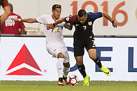 Chicago, IL - June 7, 2016: The U.S. Men's national team go on to defeat Costa Rica 4-0 in there first round group match at the 2016 Copa America Centenario at Soldier Field.