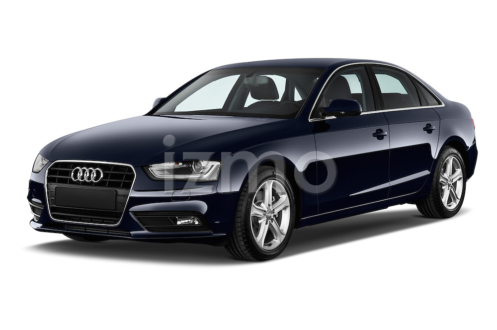 Front three quarter view of a 2014 Audi A4 AMBITION LUXE 4 Door Sedan 2WD
