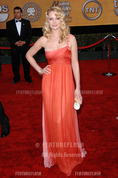 KATHERINE HEIGL at the 13th Annual Screen Actors Guild Awards at the Shrine Auditorium..January 28, 2007 Los Angeles, CA.Picture: Paul Smith / Featureflash
