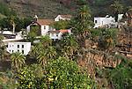 Spain, Canary Islands, La Palma, La Palma, oberhalb Santa Cruz: Santuario Nuestra Senora de las Nieves - monastery and pilgrimage chapel