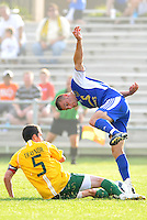 Jack Traynor (stl), Simone Bracalello...AC St Louis and NSC Minnesota Stars played to a 2-2 tie at Anheuser-Busch Soccer Park, Fenton, Missouri.