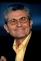 FILE PHOTO - Claude Lelouch au Festival des Films du Monde, vers 1997<br /> <br /> <br /> <br /> <br /> PHOTO :   Agence quebec Presse