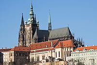 Europe/République Tchèque/Prague: Cathédrale  Saint-Guy et Château de Prague