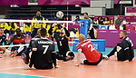 Austin Hinchey, Doug Learoyd, Mikael Bartholdy, Lima 2019 - Sitting Volleyball // Volleyball assis.<br />