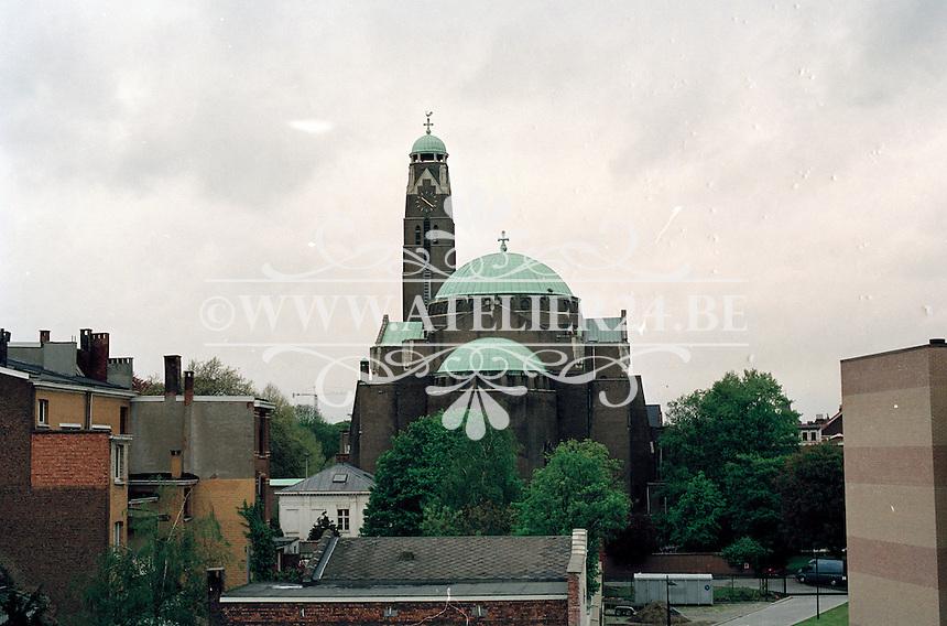 Mei 2002. Sint Laurentiuskerk in Antwerpen.