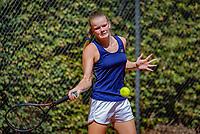 Hilversum, Netherlands, August 6, 2018, National Junior Championships, NJK, Sterre Fleur Moerdijk (NED)<br /> Photo: Tennisimages/Henk Koster