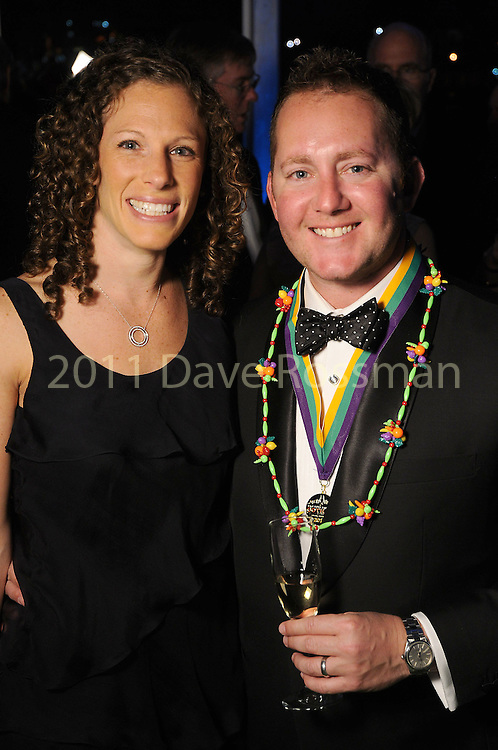 Jessica and Hal Rochkind at the 20th San Luis Salute Friday Feb. 05, 2016.(Dave Rossman photo)