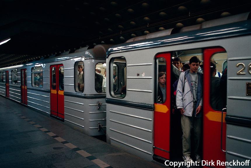 Tschechien, Prag, U-Bahn