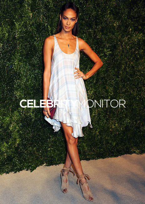 NEW YORK CITY, NY, USA - NOVEMBER 03: Joan Smalls arrives at the 11th Annual CFDA/Vogue Fashion Fund Awards held at Spring Studios on November 3, 2014 in New York City, New York, United States. (Photo by Celebrity Monitor)