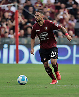 2nd October 2021; Arechi Stadium, Salerno, Italy; Serie A football, Salernitana versus Genoa : Grigoris Kastanos of Salernitana