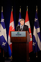 Montreal CANADA - March 22 2007 -<br /> Stephen Harper, Canadian Prime Minister speak at Americana 2007