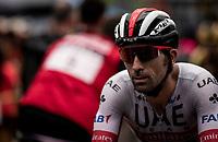 Marco Marcato (ITA/UAE-Emirates) at the finish<br /> <br /> Stage 8: Valls to Igualada (167km)<br /> La Vuelta 2019<br /> <br /> ©kramon