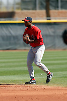 Justin Bass - Los Angeles Angels - 2009 spring training.Photo by:  Bill Mitchell/Four Seam Images