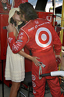 HOMESTEAD, FL - OCTOBER 09: Actress Ashley Judd and Husband Dario Franchitti appear during qualifying for the Indy Car Championship race on October 09, 2009 at the Homestead Miami Speedway in Homestead, Florida<br /> <br /> <br /> People:  Ashley Judd, Dario Franchitti