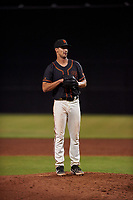 AZL Giants Black relief pitcher Austin Reich (83) during an Arizona League game against the AZL Giants Orange on July 19, 2019 at the Giants Baseball Complex in Scottsdale, Arizona. The AZL Giants Black defeated the AZL Giants Orange 8-5. (Zachary Lucy/Four Seam Images)