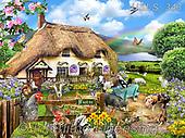 Lori, LANDSCAPES, LANDSCHAFTEN, PAISAJES, paintings+++++,USLS343,#l#, EVERYDAY ,puzzle,puzzles