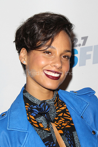 LOS ANGELES, CA - DECEMBER 03: Alicia Keys at day 2 of KIIS FM's 2012 Jingle Ball at Nokia Theatre L.A. Live on December 3, 2012 in Los Angeles, California. Credit: mpi21/MediaPunch inc.