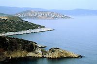 - the coast of the Calcidic peninsula....- la costa della penisola Calcidica