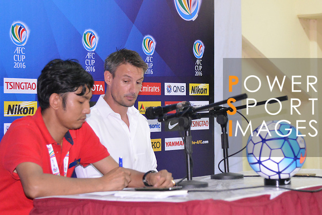 Post-Match activities  the AFC CUP 2016 of the Group G Match Day 3 16 March 2016 Ayeyawady United (MYA) VS JSW Bengaluru FC (IND) at Youth Training Centre, Yangon  Photo by Power Sport Images