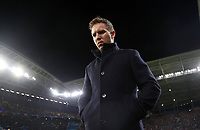 GER, Champions League, Achtelfinale, Rückspiel, RB Leipzig - Tottenham Hotspur 10.03.2019 , Leipzig, Red Bull Arena, GER, Saison 2019/ 2020, UEFA Champions League, Achtelfinale, Rückspiel RasenBallsport Leipzig vs Tottenham Hotspur im Bild Trainer Julian Nagelsmann Leipzig DFL regulations prohibit any use of photographs as image sequences and/or quasi-video *** GER, Champions League, Round of 16, second leg, RB Leipzig Tottenham Hotspur 10 03 2019 , Leipzig, Red Bull Arena, GER, Season 2019 2020, UEFA Champions League, Round of 16, second leg RasenBallsport Leipzig vs Tottenham Hotspur im Bild Trainer Julian Nagelsmann Leipzig DFL regulations prohibit any use of photographs as image sequences and or quasi video<br /> Bundesliga<br /> Foto Imago/Insidefoto <br /> ITALY ONLY