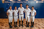 Coverage of the HKJC Press Conference and new rider announcement for the 2013-2016 HKJC Senior Riders Team, held at The Beas River Country Club, Hong Kong. Photo by Andy Jones / The Power of Sport Images