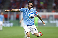 Luis Alberto of SS Lazio in action during the Serie A 2021/2022 football match between AC Milan and SS Lazio at Giuseppe Meazza stadium in Milano (Italy), August 29th, 2021. Photo Image Sport / Insidefoto
