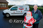 Tony Noonan at his home in Templeglantine, who is disappointed that his Christmas lighting display which raises thousands of euro each year for local charities is not going ahead this year due to Covid 19.