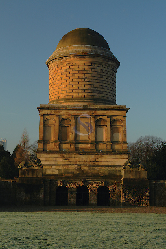 Hamilton Mausoleum, Hamilton, South Lanarkshire<br /> <br /> Copyright www.scottishhorizons.co.uk/Keith Fergus 2011 All Rights Reserved